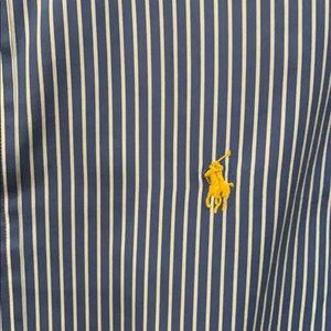 Men's Polo Button Down Size M